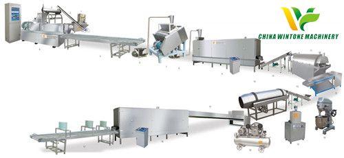 Línea de producción de copos de maíz